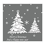 Christmas Snowflakes Christmas Window Glass Living Room Bedroom Wall Stickers Removable Decorative Stickers
