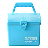 A083Portable Household Plastic Medicine Box Rectangular Storage Box