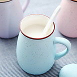 Blue Milk Ceramic Mug