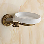 Soap Dish / Brushed / Wall Mounted /15*8*10 /Brass /Antique /15 8 0.541