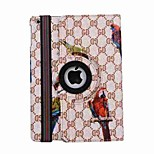 9.7 Inch Bird Pattern 360 Degree Rotation PU Leather Case for iPad Pro 9.7(Assorted Colors)