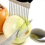 Onion Holder Slicer Vegetable Tools Tomato Cutter Meat Hamstring Fork Stainless Steel Kitchen Gadgets