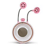 Creative pink butterfly in the butterfly fan generation multifunction USB Desktop Lamp Light fan mute