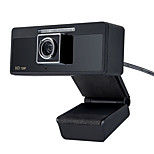USB 2.0 HD CMOS webcam 1280x720 30fps con microfono