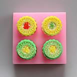 moldes Fu Lu Shou XI silicona chocolate, moldes para pasteles, moldes de jabón, herramientas de decoración para hornear