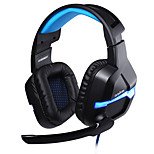 2016 Danyin DT2206GXT Deep Bass Game Headphone Stereo Surrounded Over-Ear Gaming with LED Light for PC Game