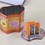Pupils Holes Pencil Sharpener School Supplies Cute Cartoon Pencil Sharpener