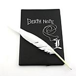 Gioielli Ispirato da Death Note Cosplay Anime Accessori Cosplay Collane Nero Lega Uomo / Donna