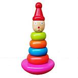 rompecabezas de madera pequeños payaso estrella niños juguetes educativos Tentetieso