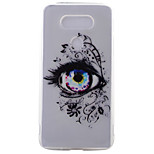 Eye Pattern Frosted TPU Material Phone Case for LG G5