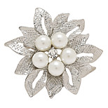 Fashion High Quality Brooch Bouquet Wedding Pearl Flower Pins And Brooches For Women