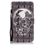 PU Leather Material 3D Painting Nigger Pattern Phone Case for LG K5/K7/LS775
