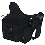 2 L Backpack Camping & Hiking Leisure Sports Multifunctional Black Canvas Other