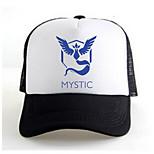 Pocket Little Monster Mystic Black-Blue Adjustable Tennis Cap