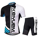 KEIYUEM®Others Summer Cycling Jersey Short Sleeves + Shorts Ropa Ciclismo Cycling Clothing Suits #69