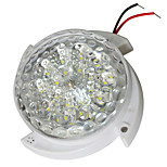 JIAWEN 5W Cool White LED Voice-Control Ceiling Lamp -White (AC 220V)