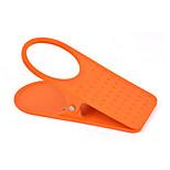 Holder Big Clip Kitchen Table Business,Plastic Table Glass Clip(Random Colour)
