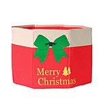 Non-Woven Christmas Tree Skirt 1.5 M /1.8 M Christmas Tree Aprons Gloves Storage Box 0.5Kg