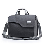 Fashion Big Capacity Laptop Briefcase Waterproof Shockproof Shoulder Handle Bag for Macbook Pro 15.4