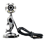 USB 2.0 HD Webcam 10m CMOS 1024x768 30fps con microfono