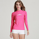 SBART Women's Diving Suits Diving Suit Compression Wetsuits 1.5 to 1.9 mm Pink S / M / L / XL Diving