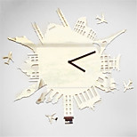 Diy Mirror  Clock Creative Personality Living Room