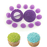 14 Pcs Cup Cake Decoration Diy Baking Cake Mould