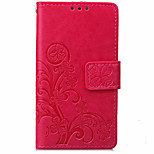 Leather Card Holder Stand Magnetic Flip Coque Clover Wallet Cover For Sony Xperia Z3/Xperia Z3 Mini/Xperia Z4/Xperia Z5