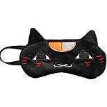 Natsume Yuujinchou Black Cat Flannel Sleeping Eye Mask