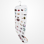Closet Complete CANVAS Ultra 80 Pocket Hanging Jewelry Organizer