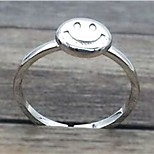 Smile Silver Ring