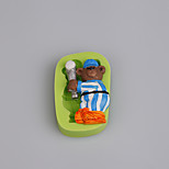 Baseball Bear Sports Teddy Silicone Mold Fondant Cake Decoration Sugarcraft Tools Polymer Clay Fimo Chocolate Candy Make