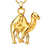 Small camel Necklace & pendants 18K Gold Plated Fashion Jewelry gifts Wholesale P30154
