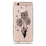 TPU Material Dandelion Pattern Bronzing Phone Case for  Huawei  P9 Lite/P9/ P8 Lite