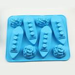 titanic design de silicone molde de gelo cozer