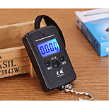 Backlight portable portable electronic scales hook small scale express luggage parcel weighing scales