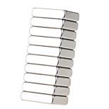 20*15*5mm Square Neodymium NdFeB Magnet (10PCS) Silver