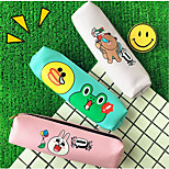 Korean Female Student Pu Soft Leather Pencil Cartoon Cute Candy Colored Purse