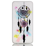 Dream Catcher Pattern Pattern Relief Glow in the Dark TPU Phone Case for Samsung Galaxy S7/S7 Edge/S6/S5/S4 mini/S3