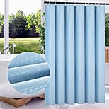 Modern Solid  Multicolor Thickening Shower Curtains W71