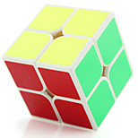 Yongjun® Magic Cube 2*2*2 Flourescent / Speed / Professional Level Smooth Speed Cube Black / White Plastic Toys