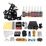 Pedal Steel Coil Color Machine Suits Tattoo Equipment(Handle Color Random Delivery)