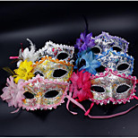 Popular Leather Side Flower Mask Goggles Birthday Masquerade Party
