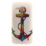 Anchor Painting Pattern TPU Soft Case for Motorola Moto G XT1028/XT1031/XT1032