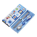 Feeding cutlery Stainless Steel For Feeding Tableware 1-3 years old Baby