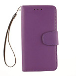 Litchi Grain Wallet Stand Shell Cover PU Leather With Phone For Alcatel C5/C7