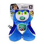 1-3 Years Old Safety Seat Headrest U Type Baby Neck Protection Pillow Infant Car Travel Pillow(Owl)