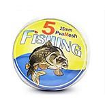 Lure PVA Fishin Bag Refill PVA Mesh In Spool For Carp Fishing 25mm*5m