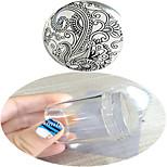Nail Art Stamping Plate Stamper Scraper 4.2*4*4.2