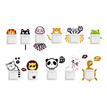 Wall Stickers Wall Decals Style Cute Cartoon Animals Switch Removable PVC Wall Stickers